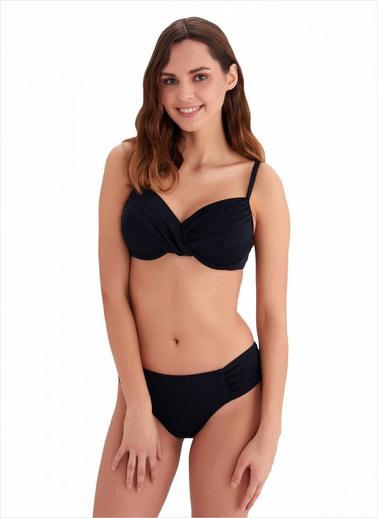 Ayyıldız Kadın Toparlayıcı Bikini Takımı 40705 Siyah